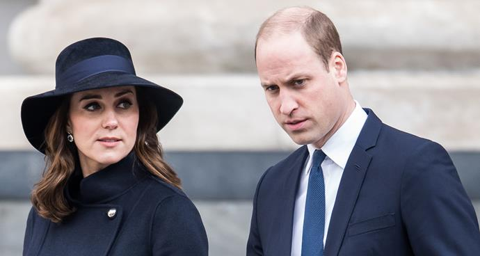 Kate and Prince William were on-again/off-again.