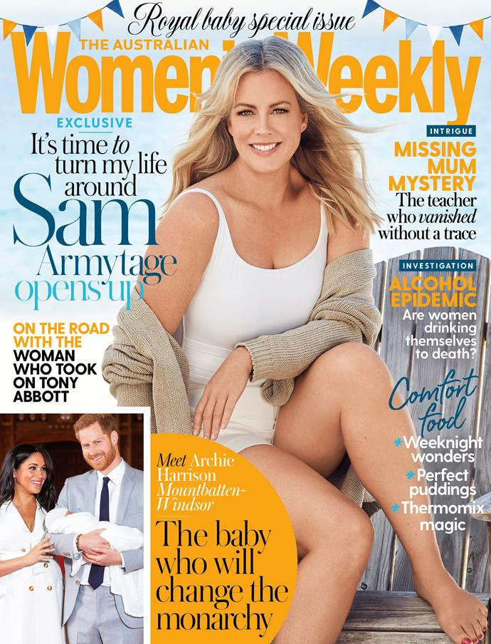 The new issue of *The Australian Women's Weekly* is on sale now.