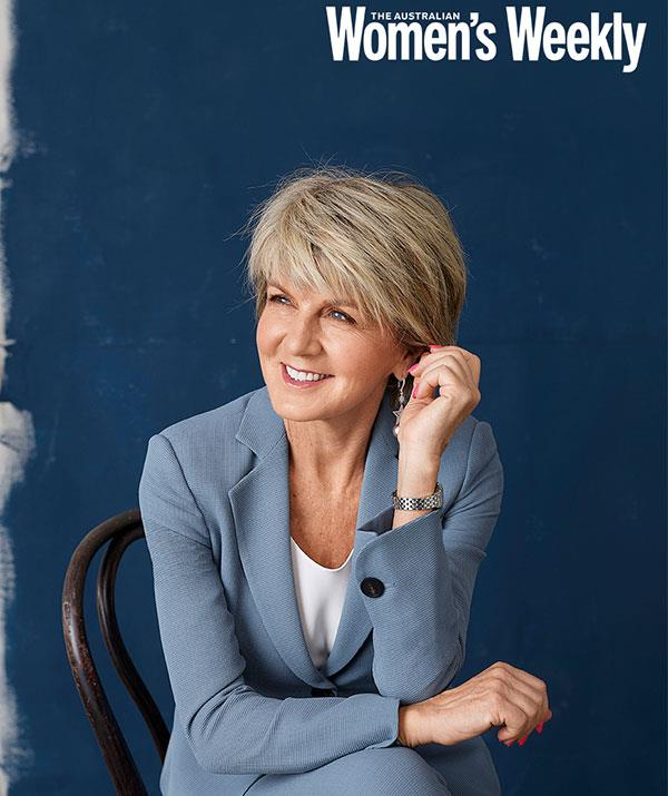 Julie Bishop has some advice for aspiring Women of the Future entrants.