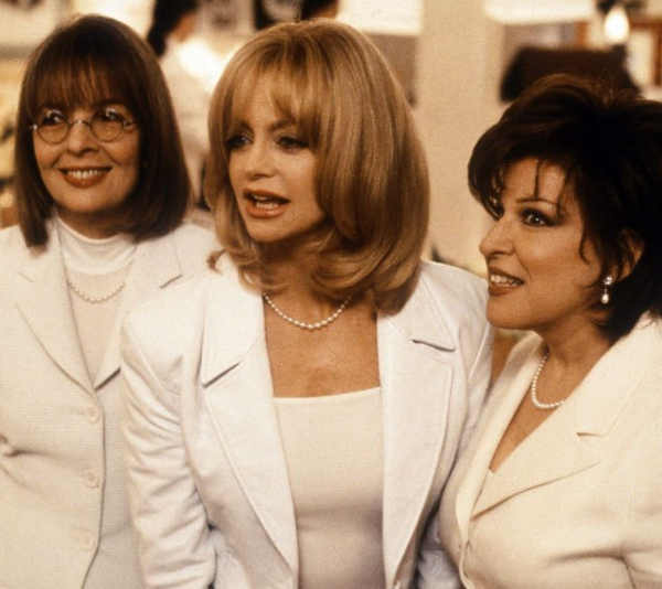 """Diane Keaton, Goldie Hawn and Bette Midler were the ultimate EX-wives in """"First Wives Club""""."""