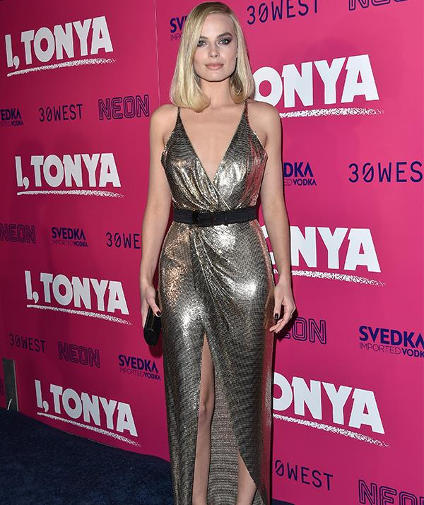 In 2017, Margot embraced old Hollywood glamour as she attended the premiere of her film *I Tonya*. Her stunning performance in the film was later recognised with a coveted Oscar nom - go girl!