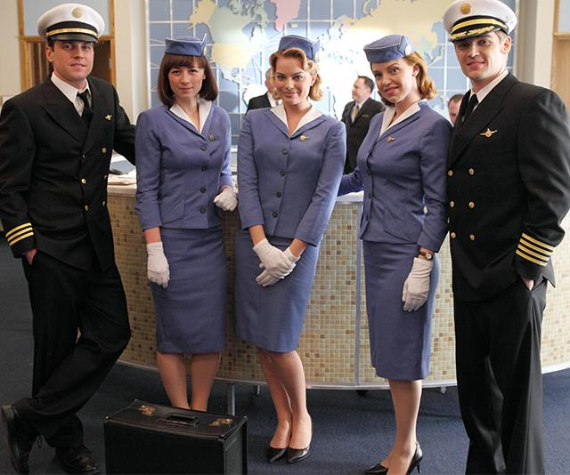 In 2012, Margot starred in the ABC's *Pan Am* as a picture perfect 1960s-esque flight attendant.