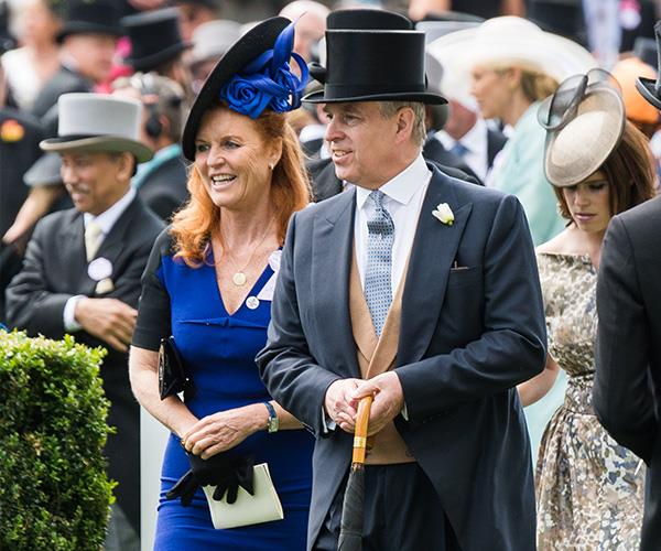 "Fergie and Prince Andrew ""never really left each other."""