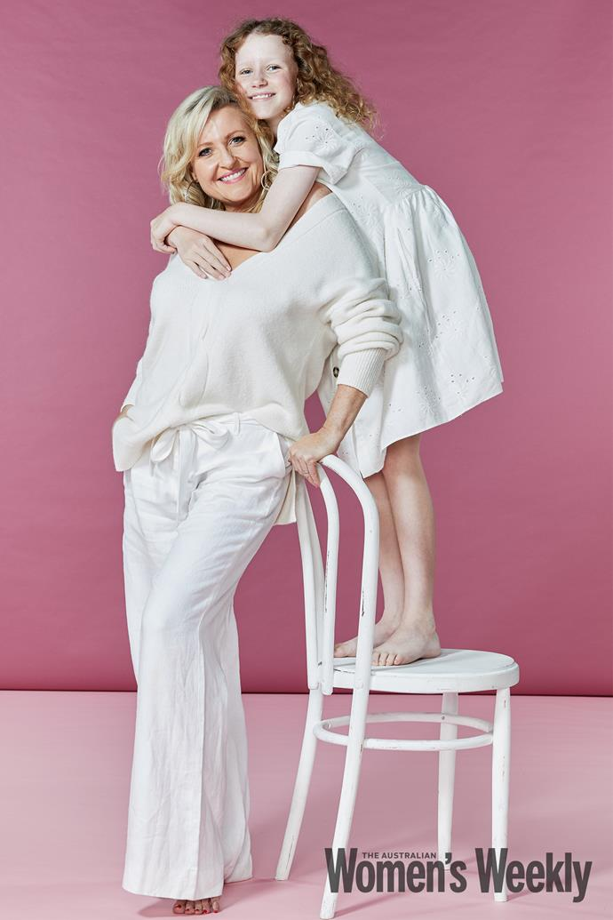 Angela and her daughter, Amelia.