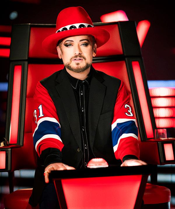 Boy George, who came out as gay at 15, was moved by Oliver's story.