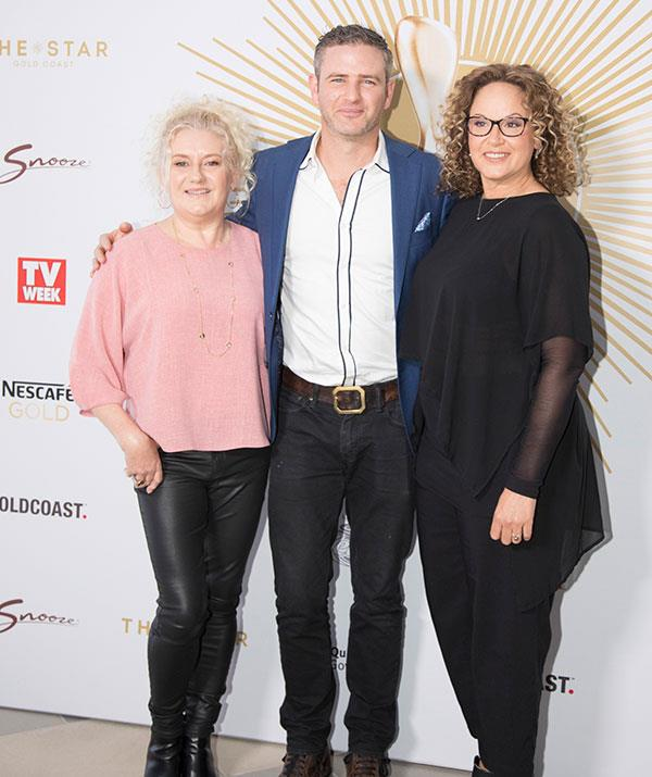 *Wentworth's* Celia Ireland, Bernard Curry and Leah Purcell
