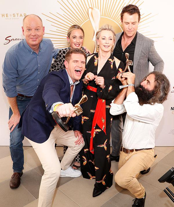 The Gold Logie nominees pose up a storm.