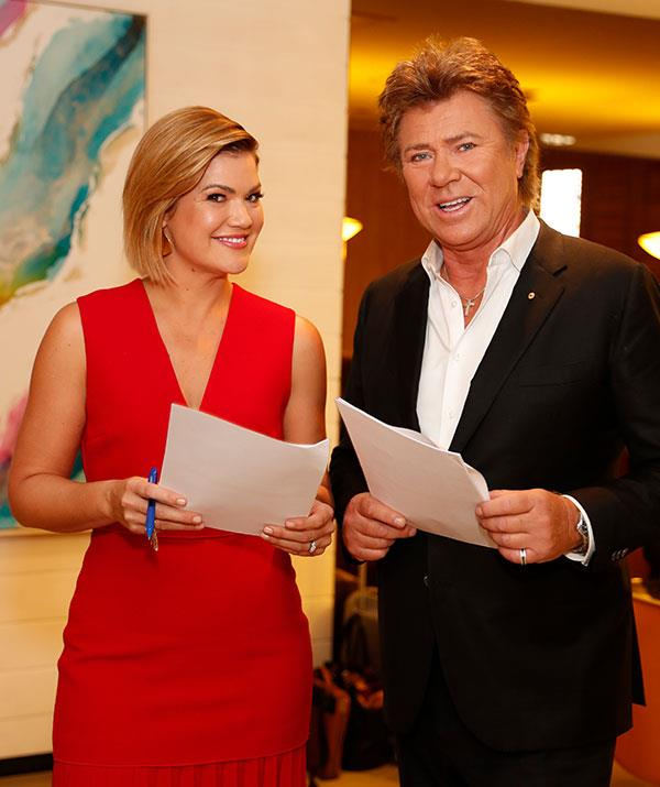 Sarah Harris and Richard Wilkins