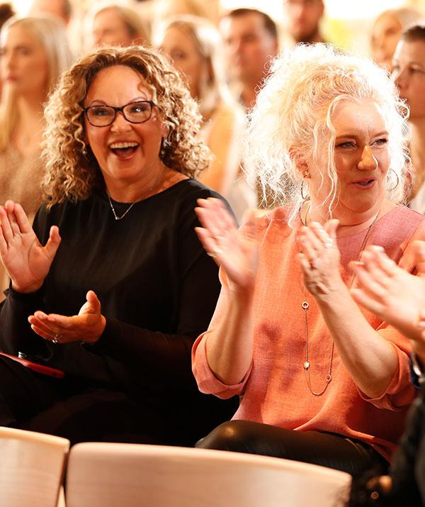 *Wentworth's* Leah Purcell and Celia Ireland