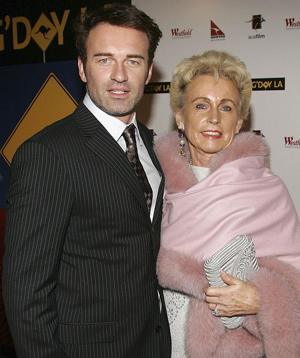 Julian's mother, Lady Sonia (pictured in 2005) was not a fan of Dannii.
