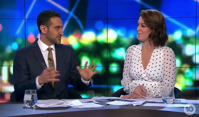 """Your heart just leaps"" - Waleed Aly has opened up about his son in a way he never has before."