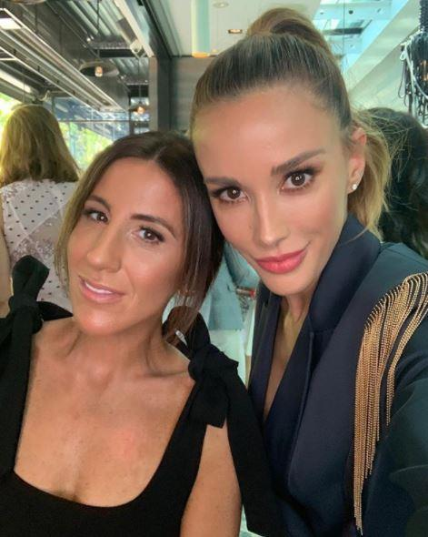"""Lana Wilkinson (left) says her client and close pal Bec is the """"Meghan Markle of Australian fashion"""""""
