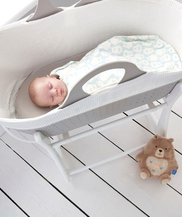 The 2in1 Swaddle and Grobag has poppers on the armholes to allow for swaddling with arms in or for arms out and the freedom of a newborn Grobag.