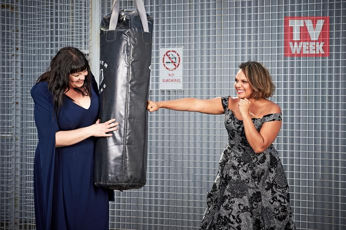 Katrina and Rarriwuy pack a punch - both on and off screen.