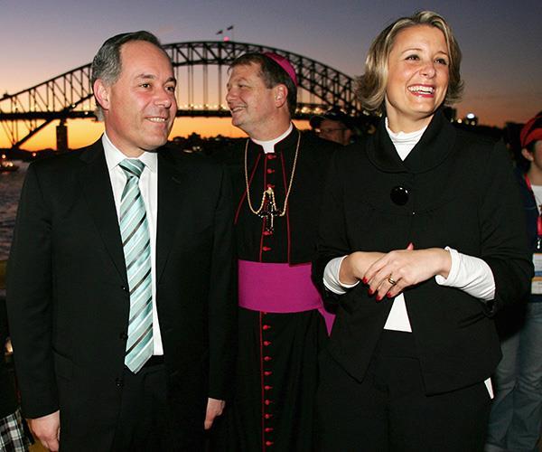 Senator Keneally attends World Youth Day in Sydney in 2008.