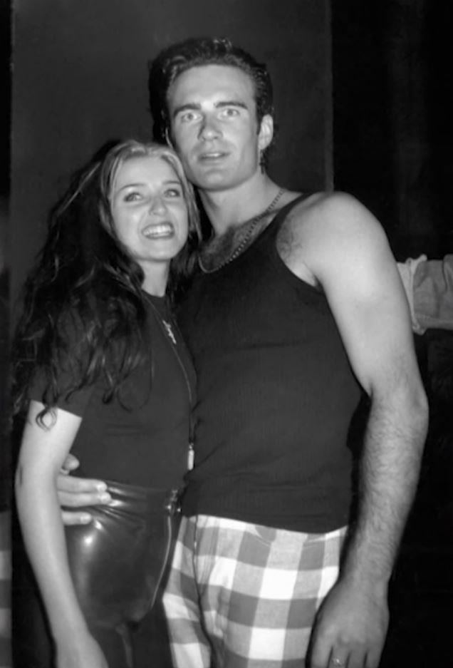 Dannii got married at 23 to Julian McMahon.