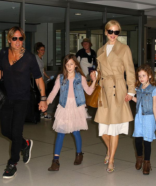 Nicole shares two daughters with husband Keith Urban.