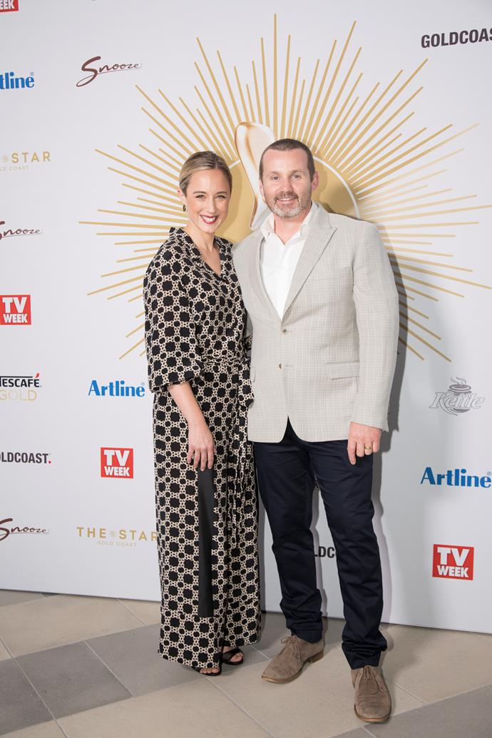 Eve and Ryan at the TV WEEK Logie Awards nominations event on Sunday.