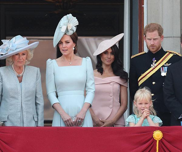 Meghan stunned at her first Trooping the Colour in 2018.