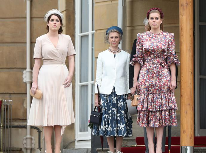 Can you spot it? The York sisters both donned something Kate is famous for wearing!