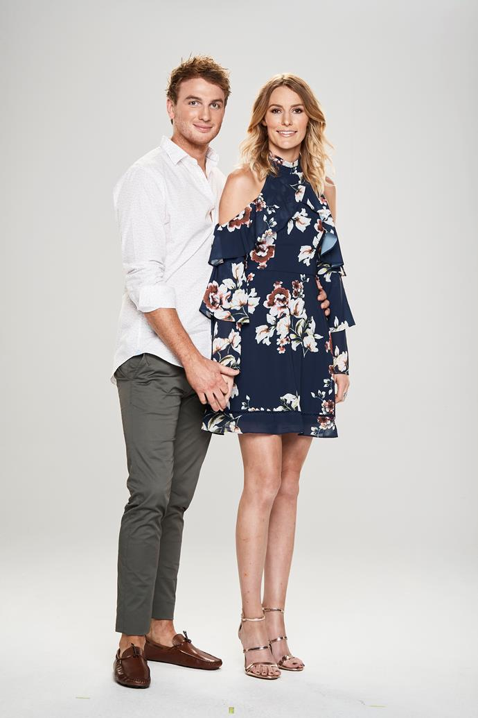 **LACHLAN & MIRANDA** <br><br> They may look like the perfect couple, but Miranda claims she is struggling with Lachlan's possessive nature. Meanwhile, he thinks his girlfriend is naïve and that her behaviour attracts attention from other men.  <br><br> Lachlan, 27, hopes to marry soon, but Miranda, 24, isn't yet sure.