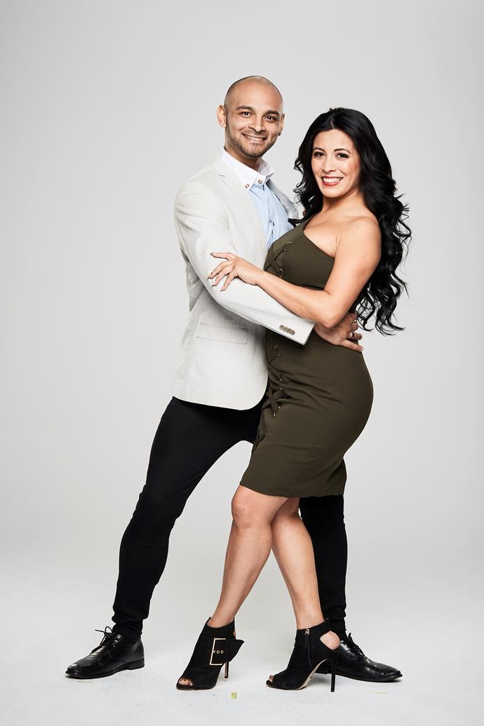"**KENDRICK & ROMINA** <br><br> Latin dance instructors [Kendrick](https://www.nowtolove.com.au/reality-tv/news/the-super-switch-kendrick-romina-56085|target=""_blank""), 33, and Romina, 34, have been in a relationship for three years.  <br><br> Though their love of dance brought them together, it's also created their biggest obstacle as they live together and run a Latin dance studio.  <br><br> ""It's been extremely hard to separate our personal relationship from our business relationship,"" Romina admits. <br><br> Will this dancing duo find a way to work things out?"