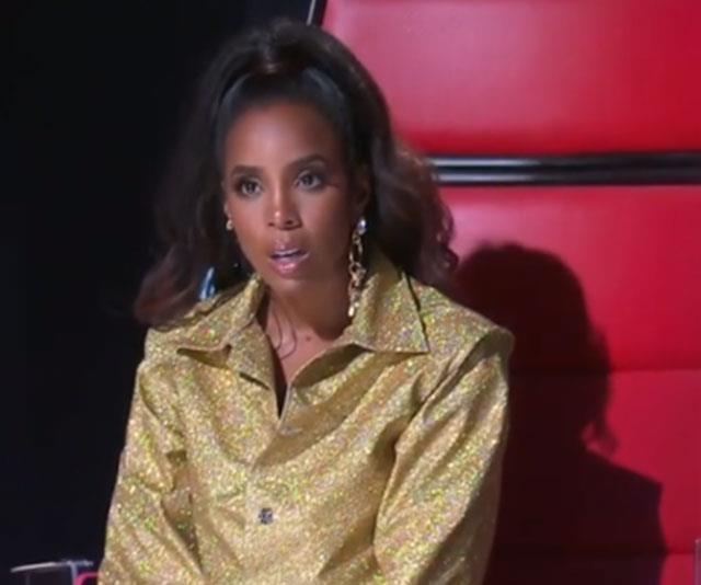 Kelly Rowland (pictured) was visibly shocked at Jack's story.