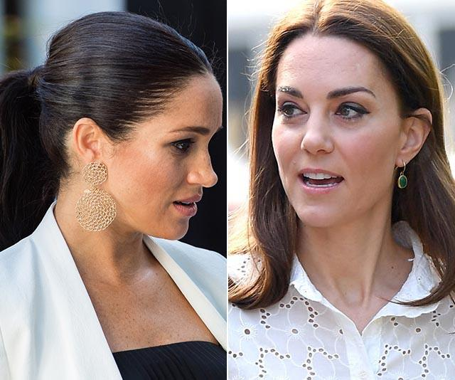 Kate and Meghan are constantly being compared on the world stage.