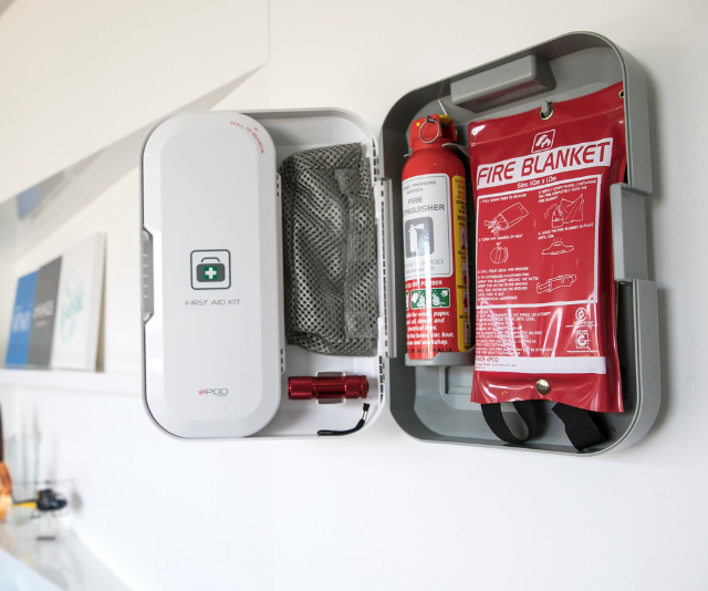 "**Emergency kits:** Having everything you need in an emergency close at hand can make all the difference to the safety of your family. Melbourne-based company dFENCE has developed a home emergency kit with the aim of saving lives should the worst happen. Housed in a compact unit, the [dFENCE ePOD](https://www.dfence.co/|target=""_blank""