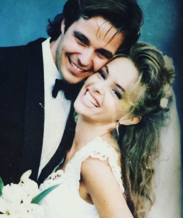 The Aussie glamour couple married in 1991.