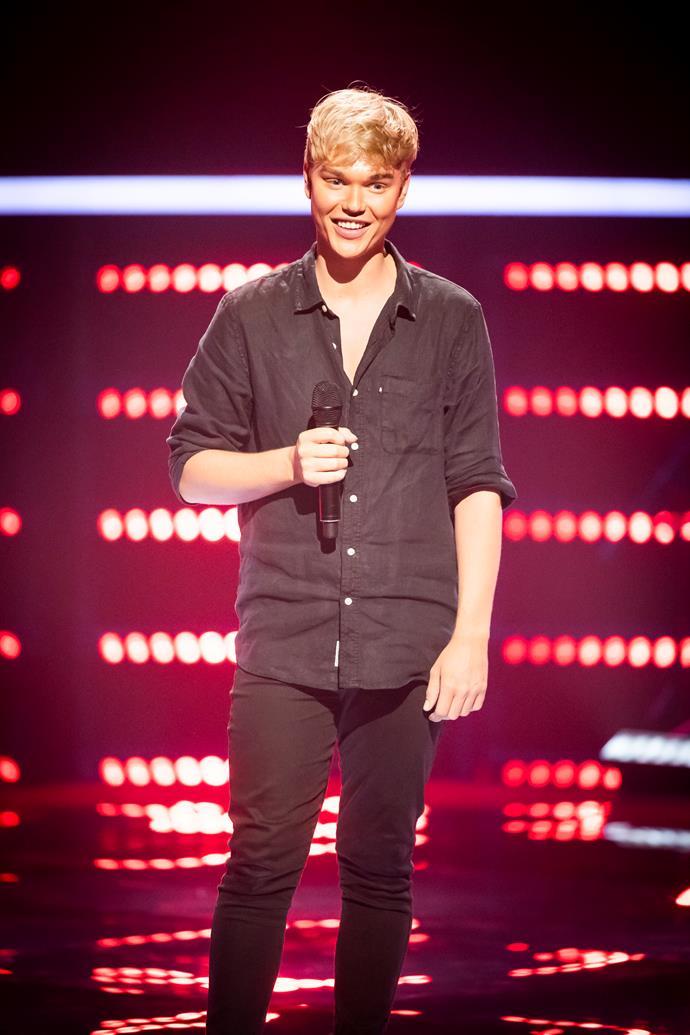Jack reveals The Voice has been 'healing' (Image: Nine Network).