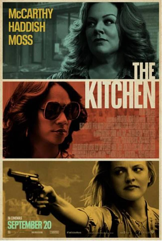 Promotional poster for *The Kitchen*. (*Warner Bros. Pictures*)