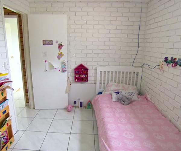 Imogen's bedroom deserved the showbiz treatment.