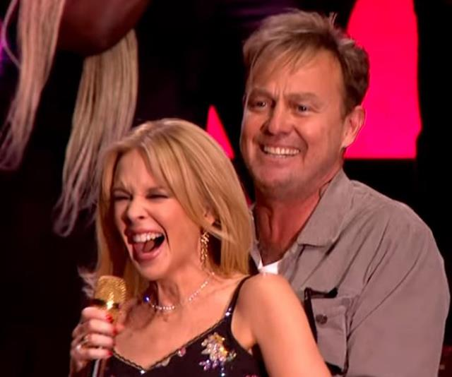 Kylie and Jason have remained good friends since their *Neighbours* days.
