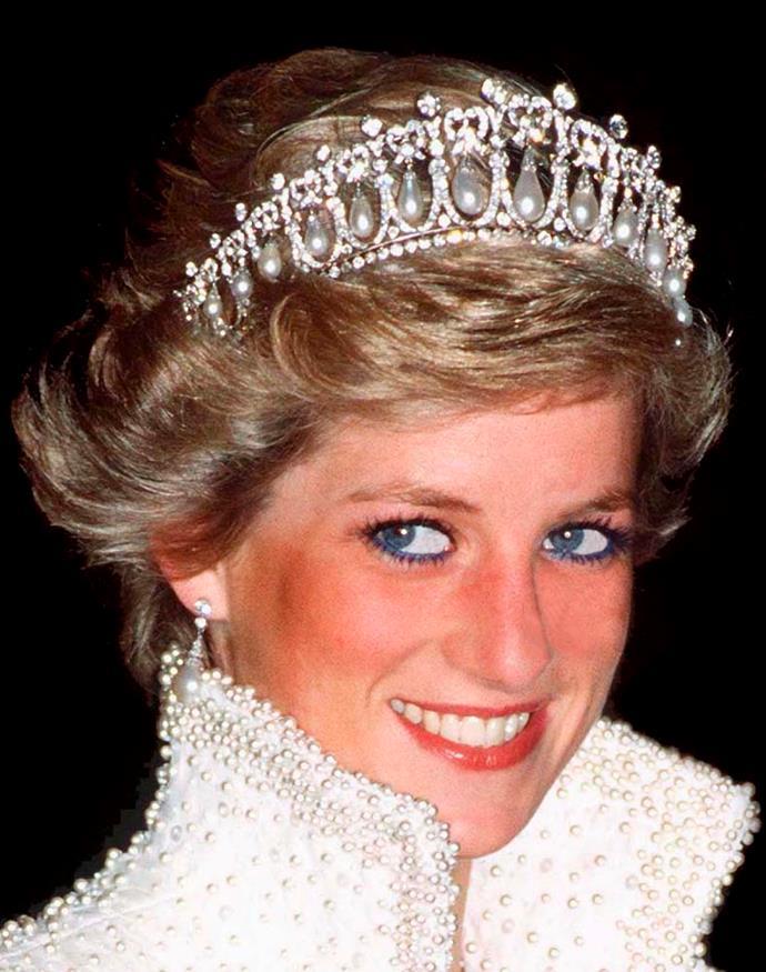 Princess Diana also wore the stunning original design.