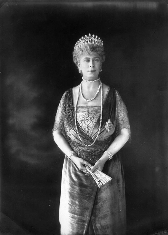 Queen Mary had the crown created in 1914.