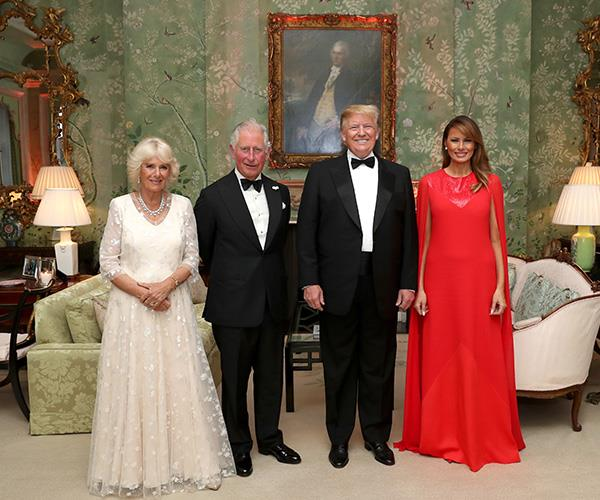 Despite meeting with the Queen, Prince Charles and Duchess Camilla, the Trumps will not meet Duchess Meghan.