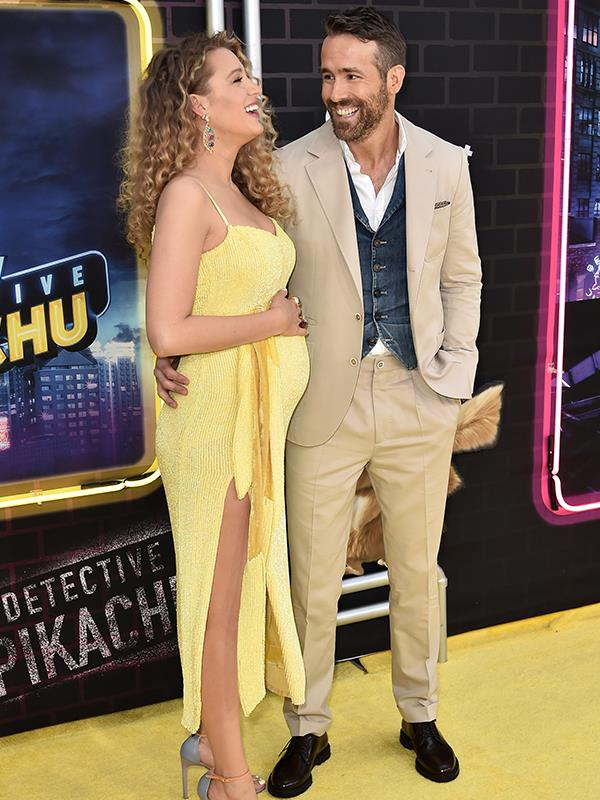 """Blake Lively looks gorgeous no matter what but [when she debuted her bump](https://www.nowtolove.com.au/parenting/celebrity-families/blake-lively-pregnant-55463