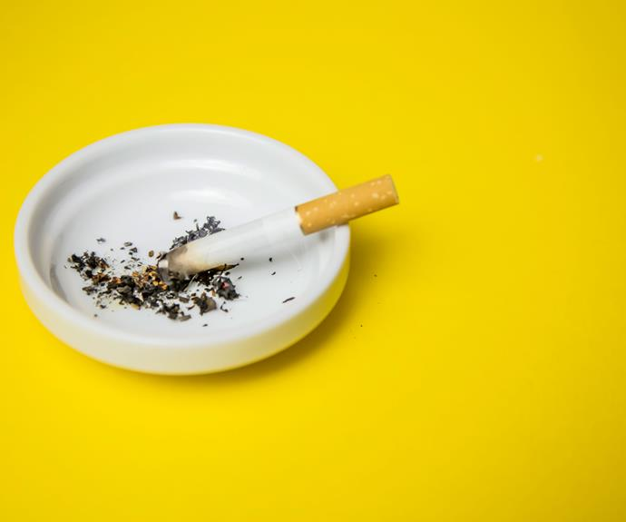 Heavy smokers are more likely to suffer from osteoporosis.