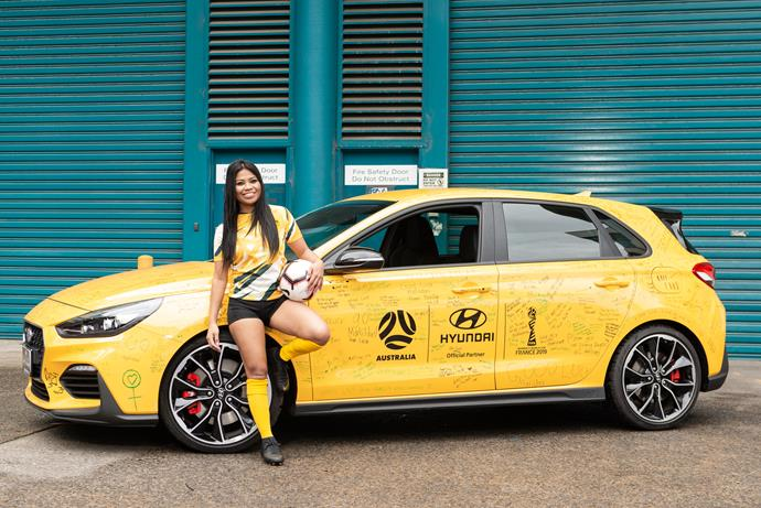 Cyrell was announced as an ambassador for the Matilda's upcoming 2019 FIFA Women's World Cup campaign with Hyundai.