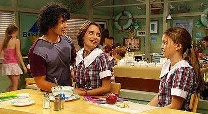 We couldn't have a *Home and Away* gallery without featuring the iconic Summer Bay High uniform - and a brief reminder that Belle's choker was a total 00s vibe.