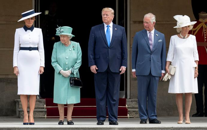 Trump has been front and centre of Britain this week.