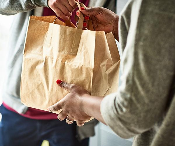 A massive one in ten Aussies order food online at least once a week and over a third of us will upsize our meal when ordering online.