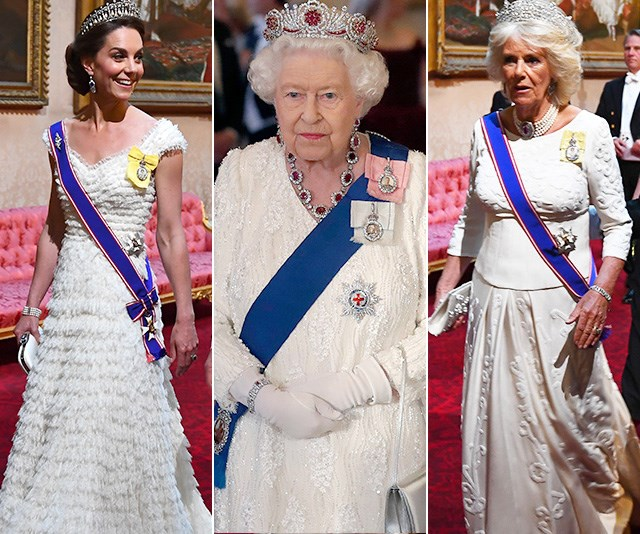 Was it a coincidence that many of the senior members of the royal family opted for white? *(Images: Getty)*