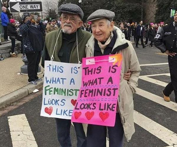 Feminism knows no bounds!