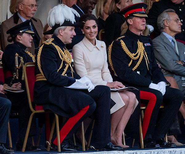 Kate has shown she can handle senior royal duties since she joined the family.