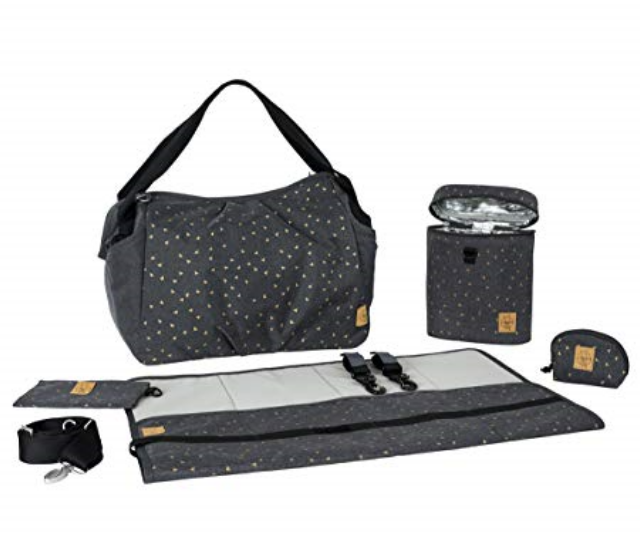 **Lassig Women's Casual Twin Baby Nappy Bag RRP $250.00:** This beauty comes with a large main compartment and additional outer storage compartments, an extra large water-repellent changing mat as well as insulated, removable holder and much more.