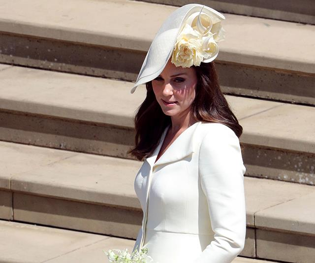 Ah - but of course she wore it to Meghan and Harry's wedding!