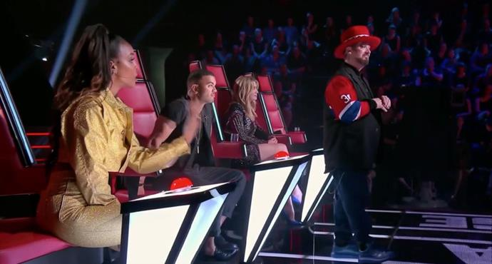 "The coaches are fighting over the ""rules"" on *The Voice.*"