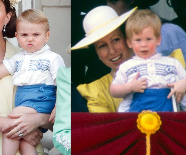 Seeing double? Prince Louis twinned with his Uncle Harry without us even realising!